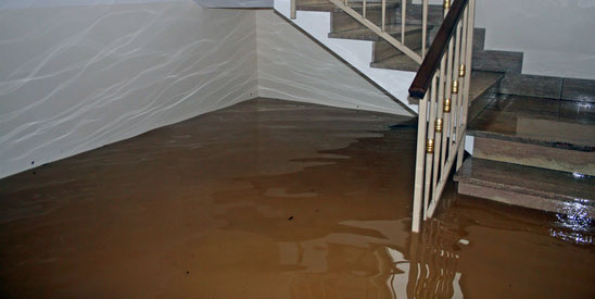 Flooded Basement Cleanup and Flood Damage Restoration