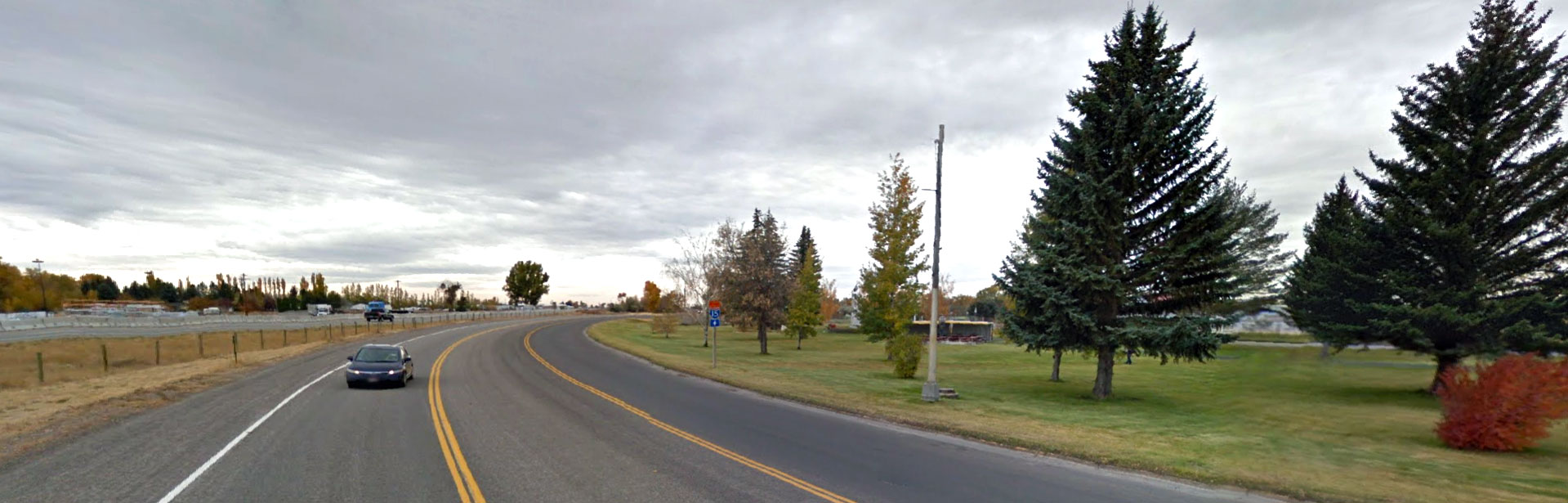 A street view in Rigby, Idaho