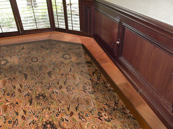 Custom Bordered Rug
